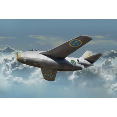 """Tarangus 7201 Flygplan SAAB J29A/B """"Tunnan"""""""
