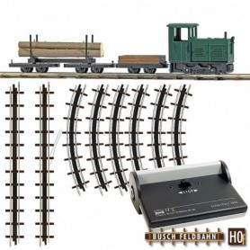 "Busch 12001 Startset ""Lumber Train"""