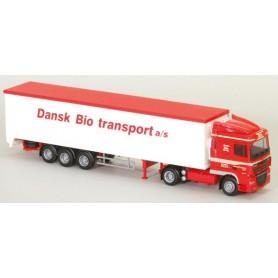 "AMW 74109 DAF XF 105 SC Bil & Trailer ""Dansk/Bio Trans"""