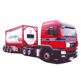 "AMW 74909 MAN TGS LX-20 Bil & Tanktrailer ""Intertank"""