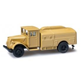 Herpa 744669 Ford Holzkabine 3Tgas tank truck, sand beige
