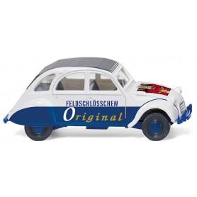 """Wiking 80912 Citroën 2 CV """"Feldschlösschen"""""""