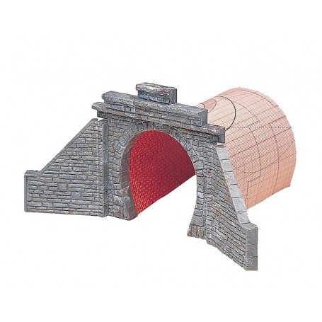 Faller 120558 Tunnelportal, enkelspår, genomfartshöjd 72 mm