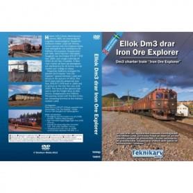 Teknikarv TAM65 Ellok Dm3 drar Iron Ore Explorer, DVD