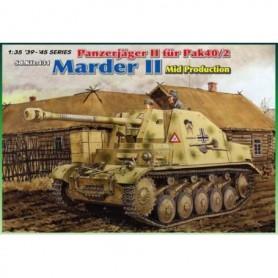 Dragon 6423 Tanks Sd.Kfz.131 Panzerjäger II für Pak40/2 Marder II Mid Production