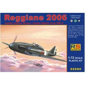 RS Models 92086 Flygplan Reggiane 2006, med svenska dekaler