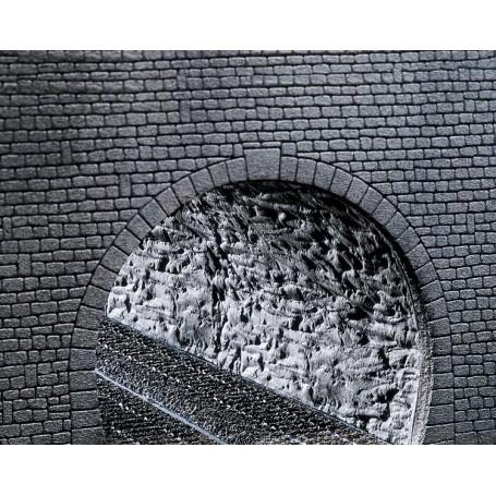 """Faller 170886 Tunnelrör """"Rock structure"""", mått 370 x 200 x 2 mm"""