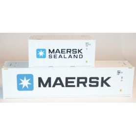 "Heris 19105 Set med 8 st kylcontainrar ""Maersk / Maersk Sealand"""