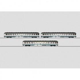 """Märklin 58343 Personvagnsset med 3 st vagnar """"Silberling/Silver Coins"""""""
