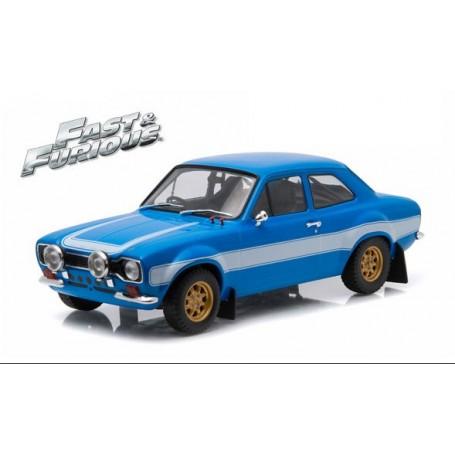 "Greenlight 19038 Brians 1974 Ford Escord RS2000 MKI ""Fast & Furious"""