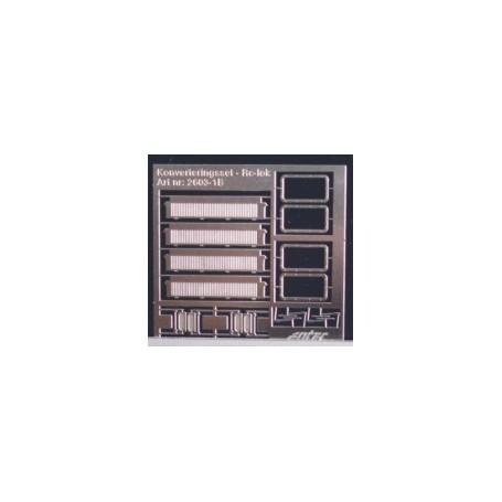 Entec 2603-1B Konverteringssats Rc1-4, luftintag, fönster S+T m.m.