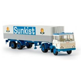 """Brekina 85271 DAF FT 2600 """"Sunkist"""""""
