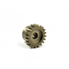 XRay 305920 Narrow Pinion Gear Alu Hard Coated 20t/48p, 1 st