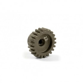 XRay 305922 Narrow Pinion Gear Alu Hard Coated 22t/48p, 1 st