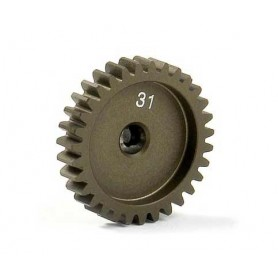 XRay 305931 Narrow Pinion Gear Alu Hard Coated 31t/48p, 1 st