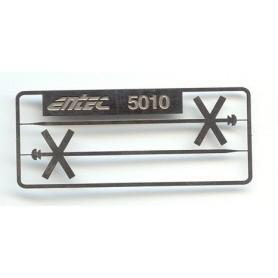 Entec 5010-2B Enkelt kryssmärke, 2-pack