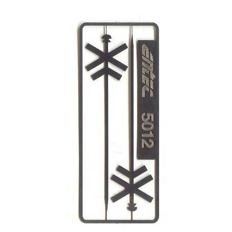 Entec 5012-2B Dubbelt kryssmärke, 2-pack