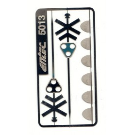 Entec 5013-2B Dubbelt kryss med tavla, 2-pack