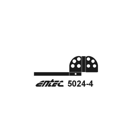 Entec 5024-4 Dvärgsignaler, 4-skens, 4-p bygg