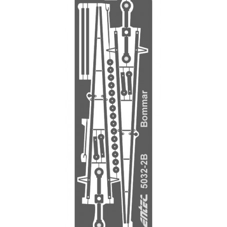 Entec 5032-2B Bommar, helbom, 2-pack byggsats