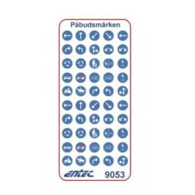 Entec 9053 Vägmärken - Påbudsmärken