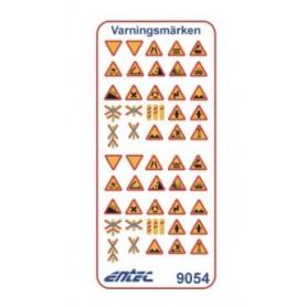 Entec 9054 Vägmärken - Varningsmärken
