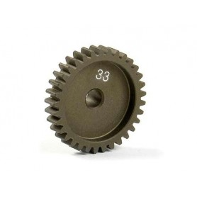 XRay 305933 Narrow Pinion Gear Alu Hard Coated 33t/48p, 1 st