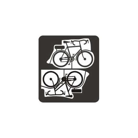 Entec 8004-2 Cyklar, 2st, Dam + herrmodell