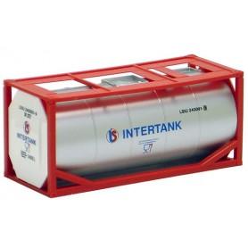 "Herpa 491019 Tankcontainer 20 fots ""Intertank"""