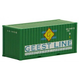 """Herpa 491368 Container 20 fots """"Geest Line"""""""