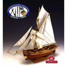 "Constructo 80704 Segelfartyg ""Gjöa"" 1872"
