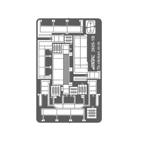 Entec 2605-1B Tb-räcken med fotsteg m m, bygg