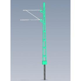 Jeco 180000 Luftledningsstolpe, svensk, äldre design, 1 st