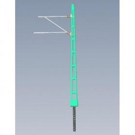 Jeco 181000 Luftledningsstolpe, svensk, modern design, 1 st