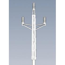 Jeco 185000 Masttopp för luftledningsstolpe, svensk, 5 st