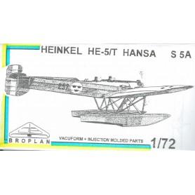 Broplan MS38 Flygplan Heinkel HE-5/T Hansa S5A