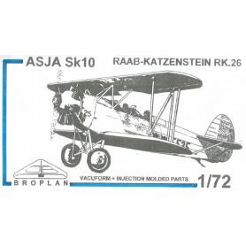 Broplan MS45 Flygplan ASJA Sk10 RAAB-Katzenstein RK.26