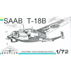 Broplan MS30 Flygplan SAAB T18B
