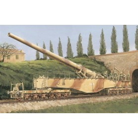 "Dragon 6200 German Railway Gun 28cm K5(E) ""Leopold"""