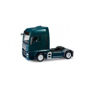 Herpa 301695.3 MAN TGX XXL Euro 6 rigid tractor, blue green