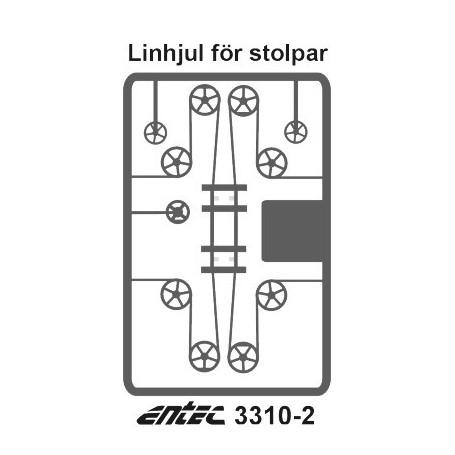 Entec 3310-2 Linhjulssats