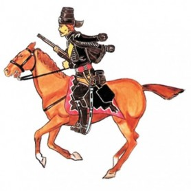 Prince August 49 Battle of Rossbach Prussian Von Reusch Hussar