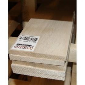 Fajri Balsa BF025100 Balsaflak, mått 2.5x100x1000 mm, 1 st