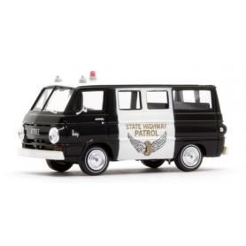 "Brekina 34310 Dodge A 100 Bus ""State Highway Patrol"""