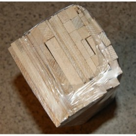 Fajri Balsa SB91403 Balsaflak och lister, blandat, längd ca 30 cm, 1 set