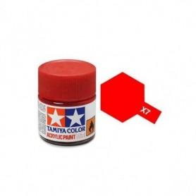 Tamiya 81507 X-7 Red