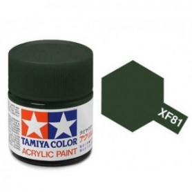 Tamiya 81781 XF-81 Dark Green 2 RAF