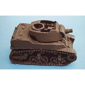 Heiser 00101 M8 Motor Howitzer med 75 mm Howitzer på M5A1 Chassie, byggsats i resin, omålad