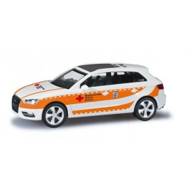 "Herpa 091268 Audi A3 Sportback ""Ingolstadt Bavarian Red Cross"""