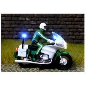 "Bicyc Led 168851 Motorcykel med belysning ""Tysk Polis"""